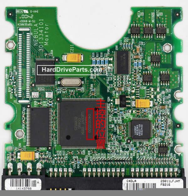 040103500 Scheda Elettronica HDD Maxtor
