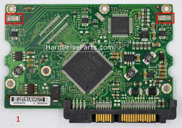 100406533 Scheda Elettronica HDD Seagate