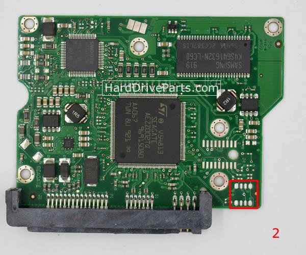 ST3250310CS Seagate Scheda Logica 100468303