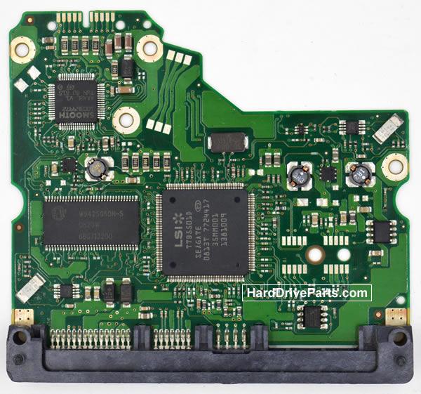 ST3250310NS Seagate Scheda Logica 100475720