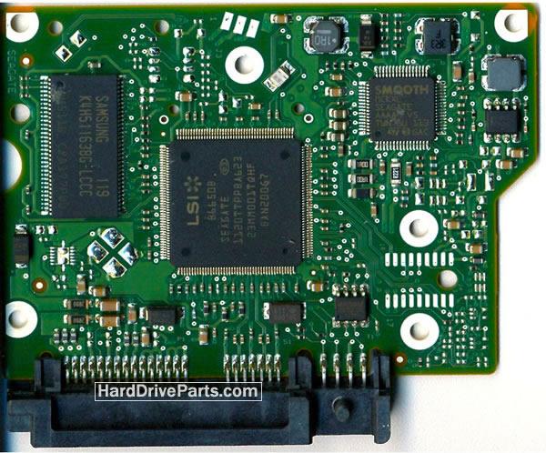 ST2000DL001 Seagate Scheda Logica 100591286