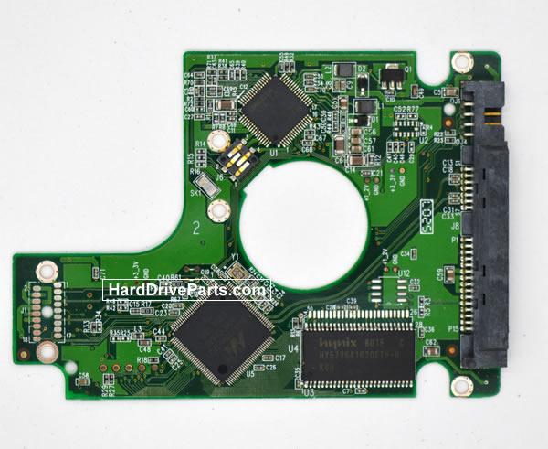 Western Digital WD800BEVS Parte Elettronica Hard Disk 2060-701450-011