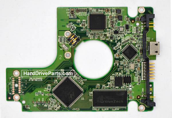 2060-701675-001 Scheda Elettronica HDD Western Digital