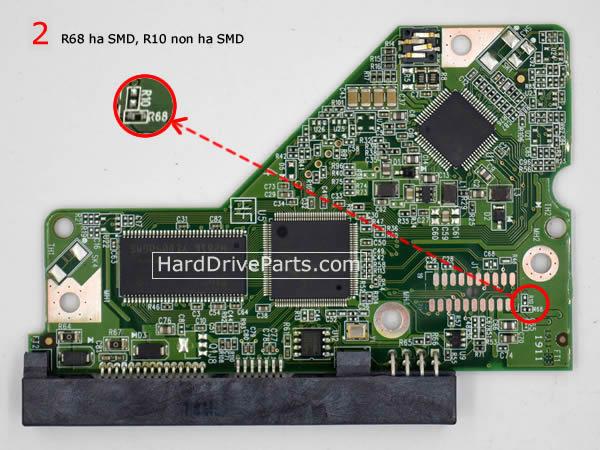 2060-771640-003 Scheda Elettronica HDD Western Digital