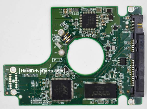 Western Digital WD2500BEKX Parte Elettronica Hard Disk 2060-771692-006