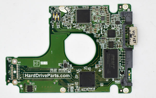 Western Digital WD5000LPVT Parte Elettronica Hard Disk 2060-771962-000