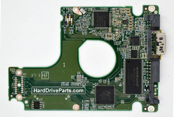 Western Digital WD3200BEKT Parte Elettronica Hard Disk 2060-771962-002