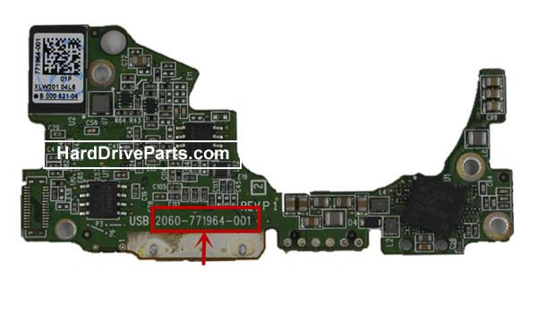 2060-771964-001 Scheda Elettronica HDD Western Digital