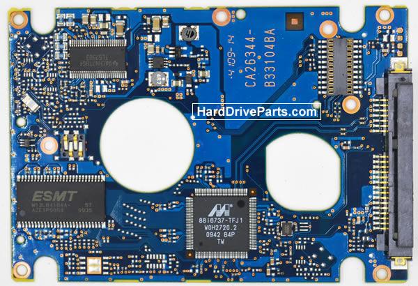 CA26344-B33104BA Scheda Elettronica HDD Fujitsu