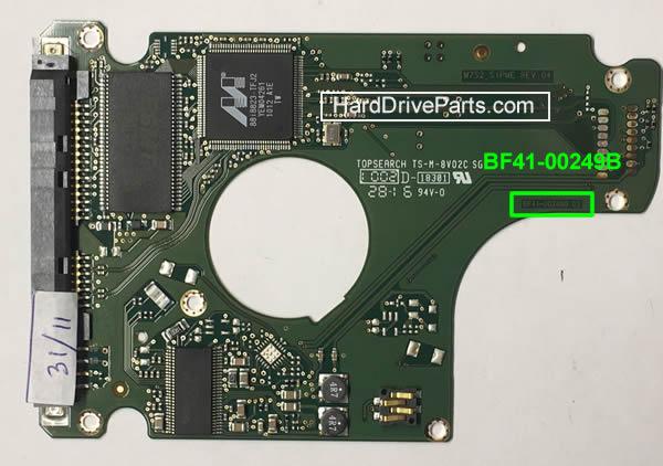 Cambiare Scheda Elettronica Hard Disk Samsung 2.5