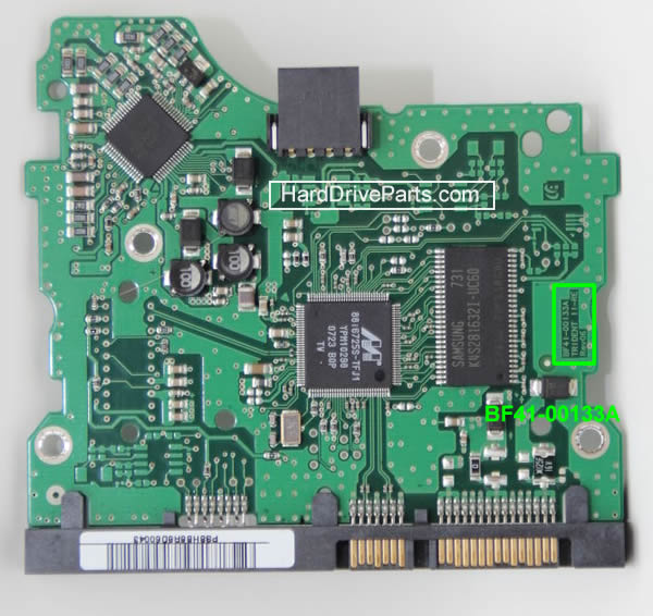 Cambiare Scheda Elettronica Hard Disk Samsung 3.5