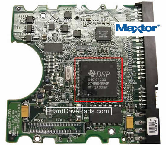 sostituire scheda elettronica hard disk maxtor