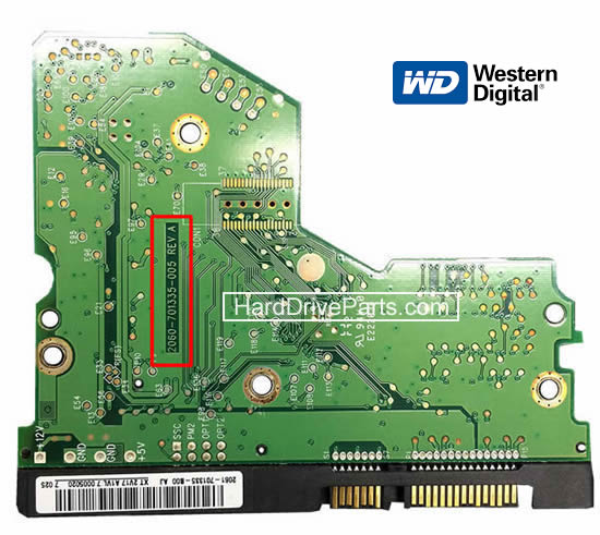 sostituire scheda elettronica hard disk western digital